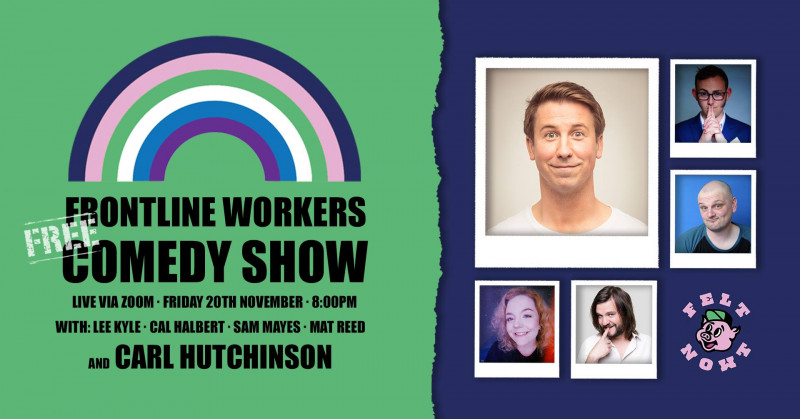 FREE Frontline Workers Comedy Show